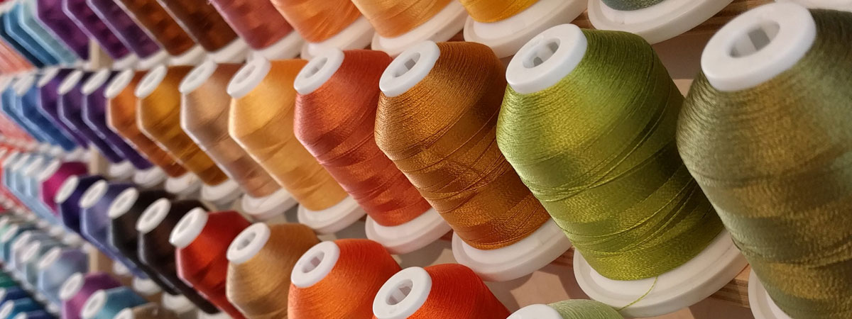 embroidery thread - a world of colors and the finest quality